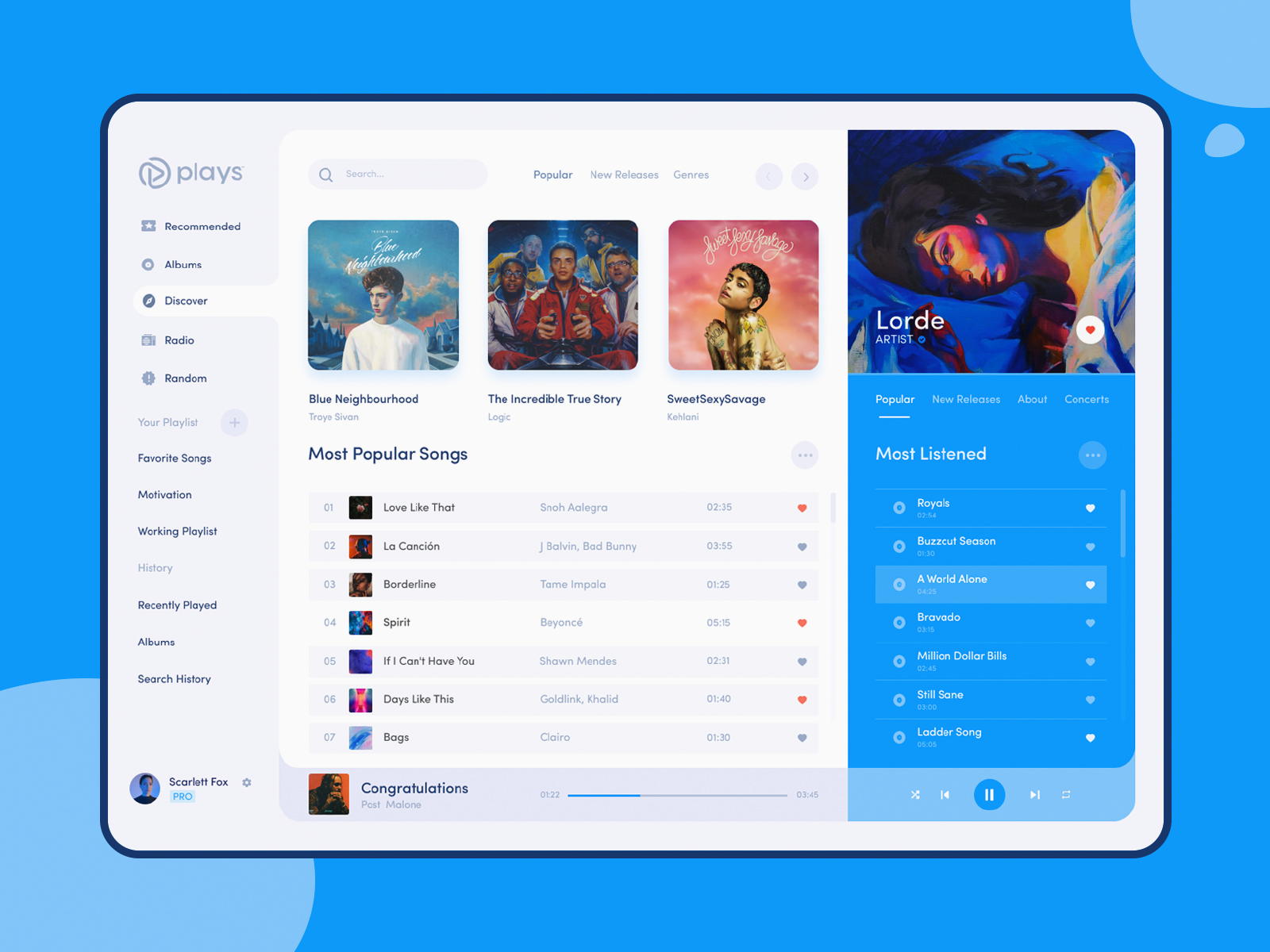 Plays , Music Desktop App