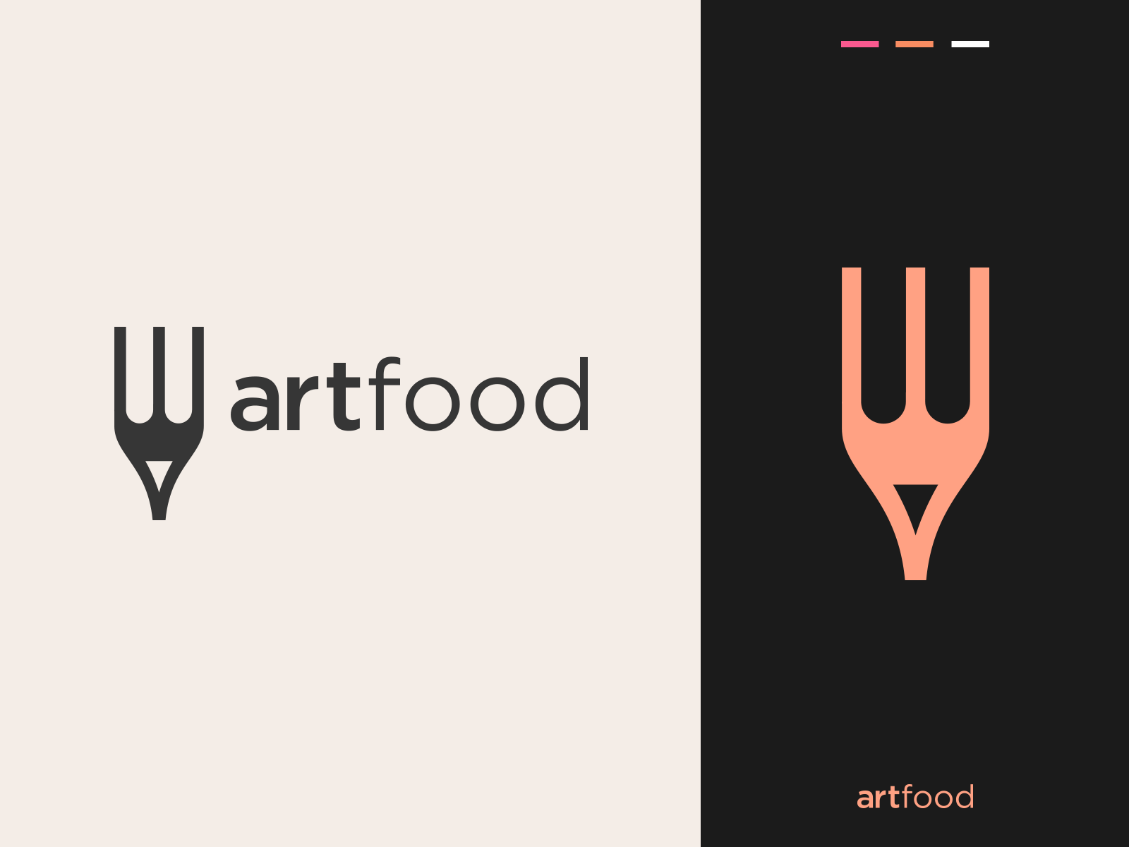 Art Food Logo Design