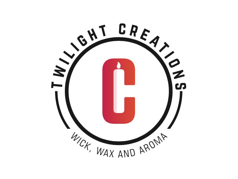 Twilight Creation negativespacelogo tc branding logo twilightcreation