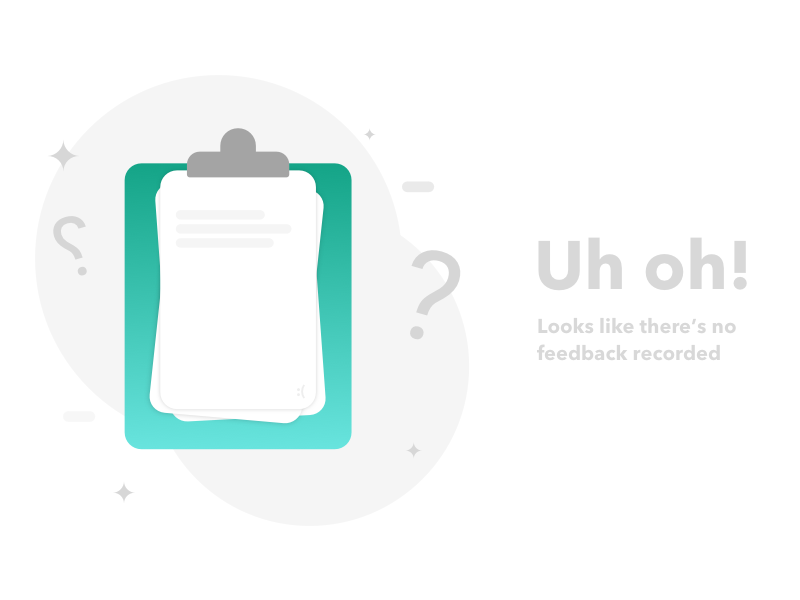 Empty feedback state