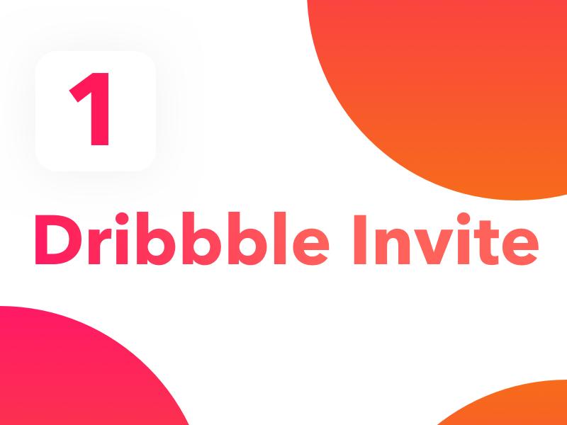 Dribbble Invite! player draft invitation prospect invite dribbble