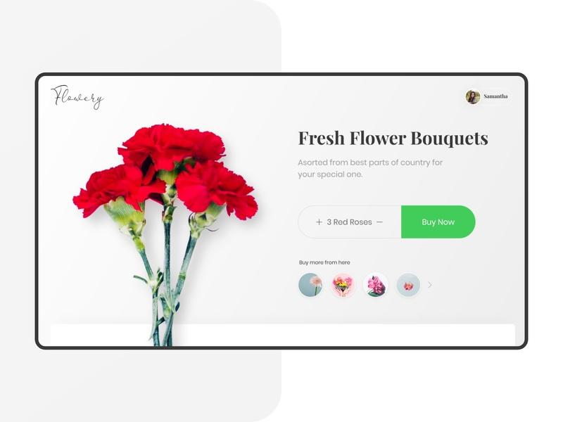 Flowers for Queens of Dribbble's