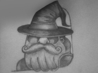 Chaps sketch chaps