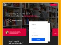 Books Donation Website