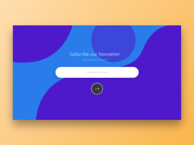Day 026 - Subscribe - Daily UI