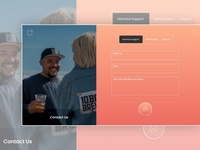 Day 028 - Contact Us - Daily UI