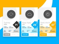 Day 037 - Weather - Daily UI