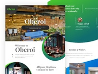 Oberoi Hotel Website (Unofficial Redesign)