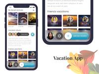 Vacation App Concept