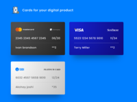 Cards for Digital products