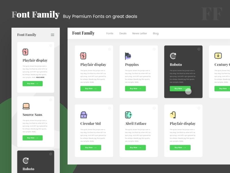 Premium Font Service by Akshay Vinchurkar on Dribbble