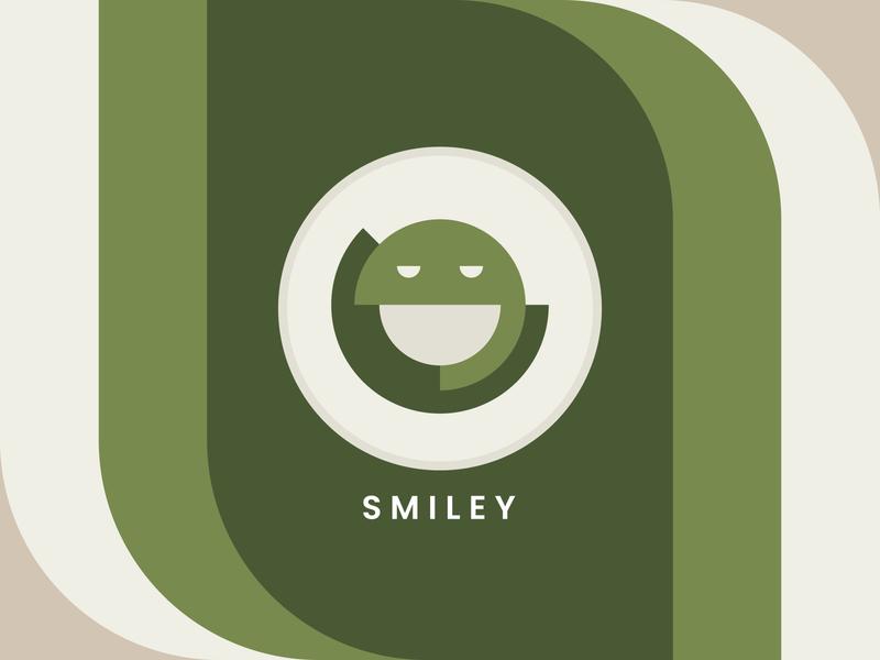 Smiley icon uidesign vector logo illustration simple minimal dribbble design ui
