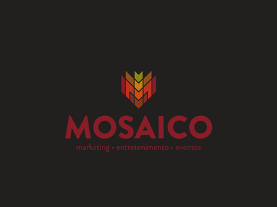 Mosaico branding colors mosaic identidade identity logo