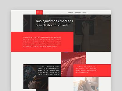 Estúdio FFW front-end studio ffw site web layout