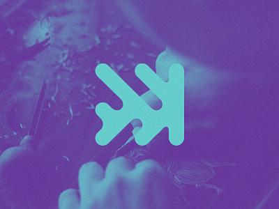 Estúdio FFW rebrand fast-forward ffw estudio marca logotipo mark brand logo
