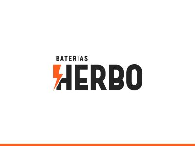 Herbo battery herbo redesign branding logo