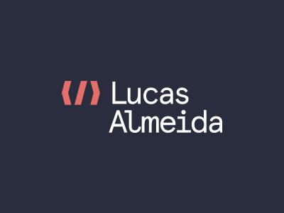 Lucas Almeida developer personal branding logo