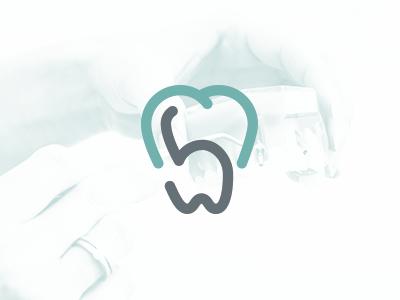 MB Odontologia dental dentist dentistry branding logo