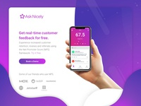 AskNicely New Book a Demo Page