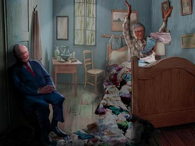 Glorious Partners divorce panties glorious show 70s that room gogh van gates bill buffet warren
