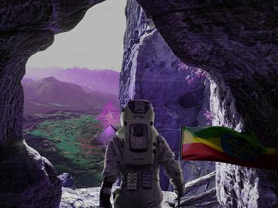 For ETHiopia world alien astronaut etheropia ethiopia ethereum crypto