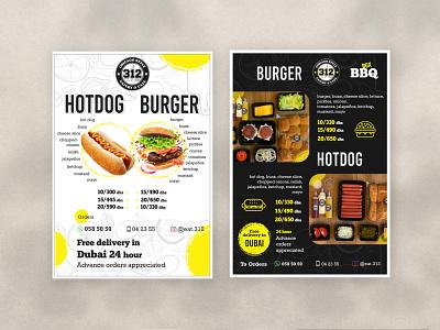 Restaurant Menu Card Design menudesign icon typography vector design illustrator illustration minimal graphicdesign resturant menucard modern