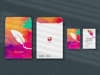 Branding artwork art envelope businesscard identity illustration design brand design branding