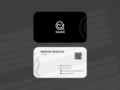 Creative Business Card Design creative cards branding minimal modern black business cards design