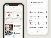 Coffee shop finder app