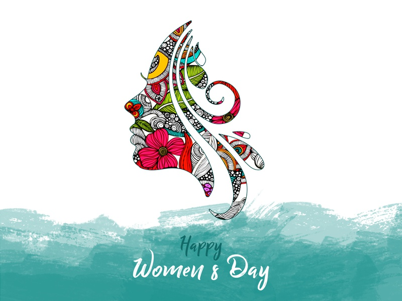 Happy women's day! poster international womens day designer creative charactor illustraion girl march 8 womens day women shape abstract