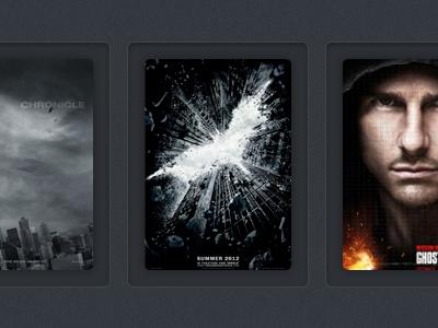 Rework of Movie Poster Interface