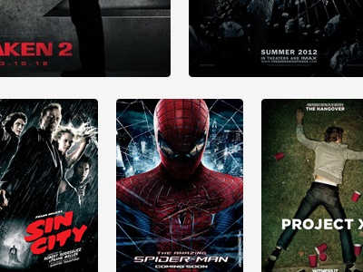 Layout responsive layout grid movies