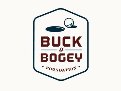 Buck a Bogey Badge golf logo foundation badge