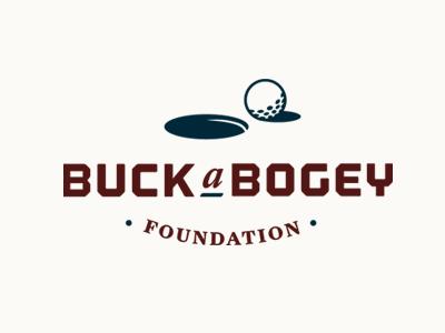 Buck a Bogey Logomark golf logo foundation