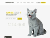 Observe Point Website Header