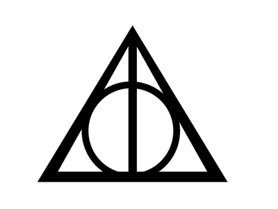 The Sign of the Deathly Hallows design illustration