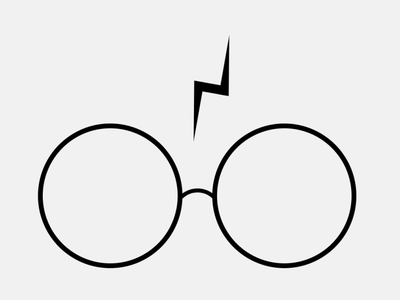 Harry Potter's Glasses and Scar