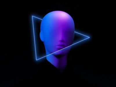 Neon shade app data data analytic figma graph design logo illustration 3d graphic design branding