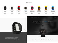 Charity Watch Brand Landing Page