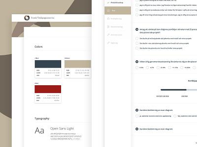 Financial Advisory System styleguide graph design app infographics dashboard ui ux finance
