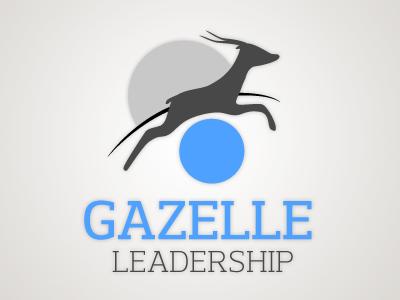 Logo for Gazelle Leadership logo gazelle design logo design