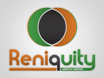 Reniquity logo logo logo design