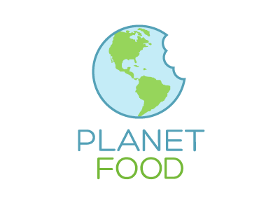 Planet Food logo logo logo design