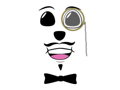 Funny Dog character illustration dog