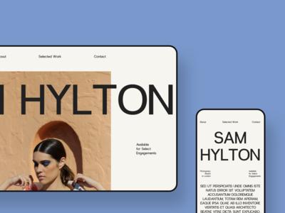 Sam Hylton Portfolio