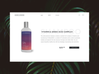 Honey and Chrome Product Page