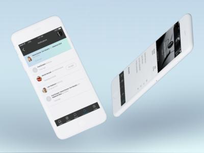 Linq App . Notifications / Profile User