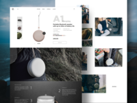 A1 Product Details Page