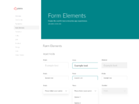 Globtra styleguide form elements 2x