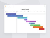 Talebook – Timeline